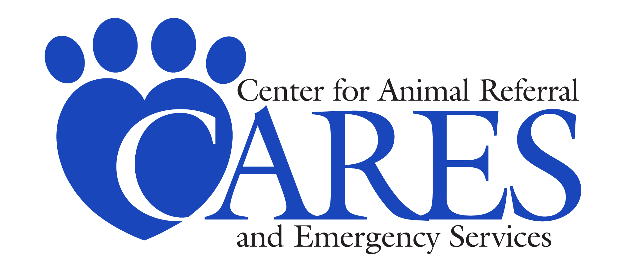 Center for Animal Referral and Emergency Services (CARES) Logo