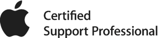 Apple Certified Support Professional logo