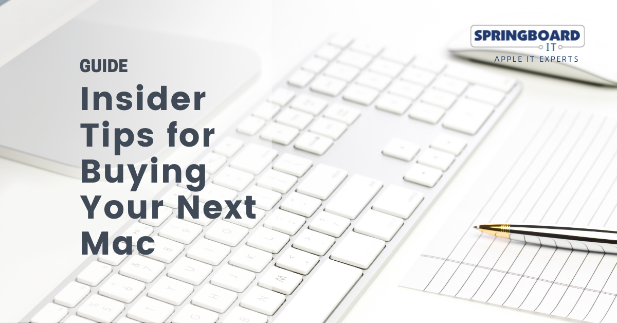 Insider Tips for Buying Your Next Mac