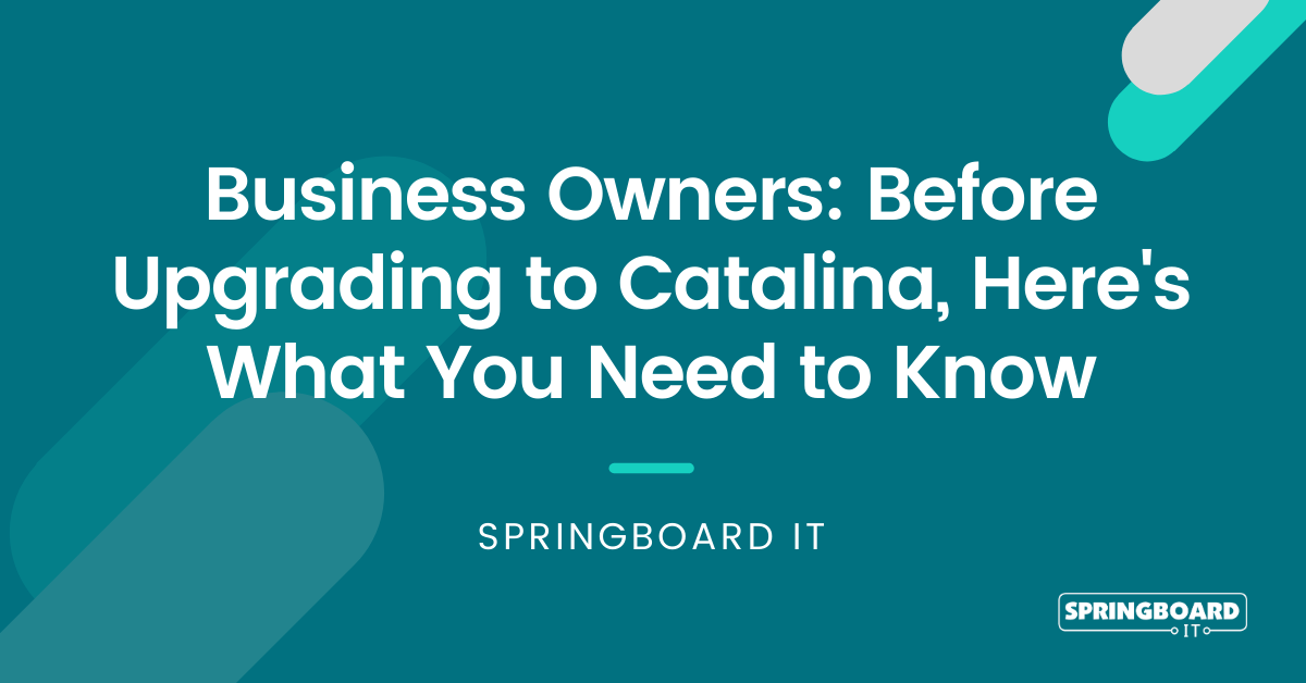 Why You Need Apple Business Manager Before Upgrading to Catalina OS