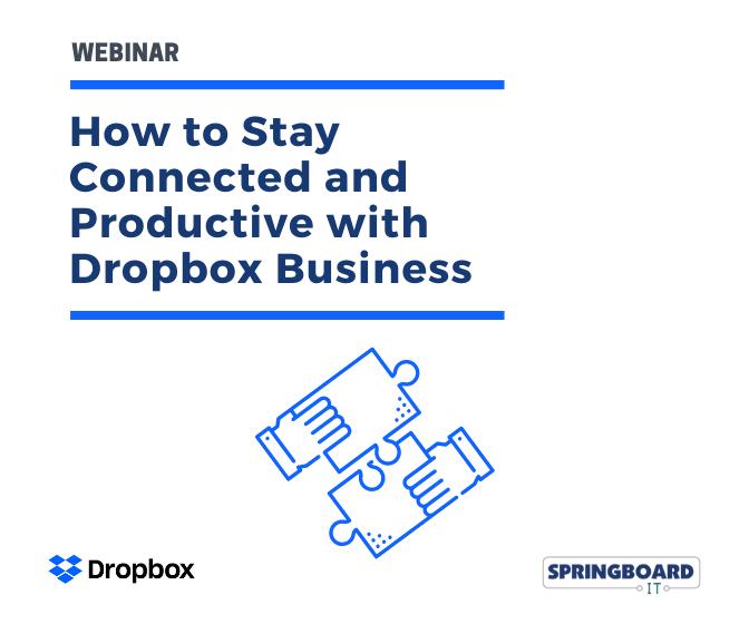 Dropbox Webinar