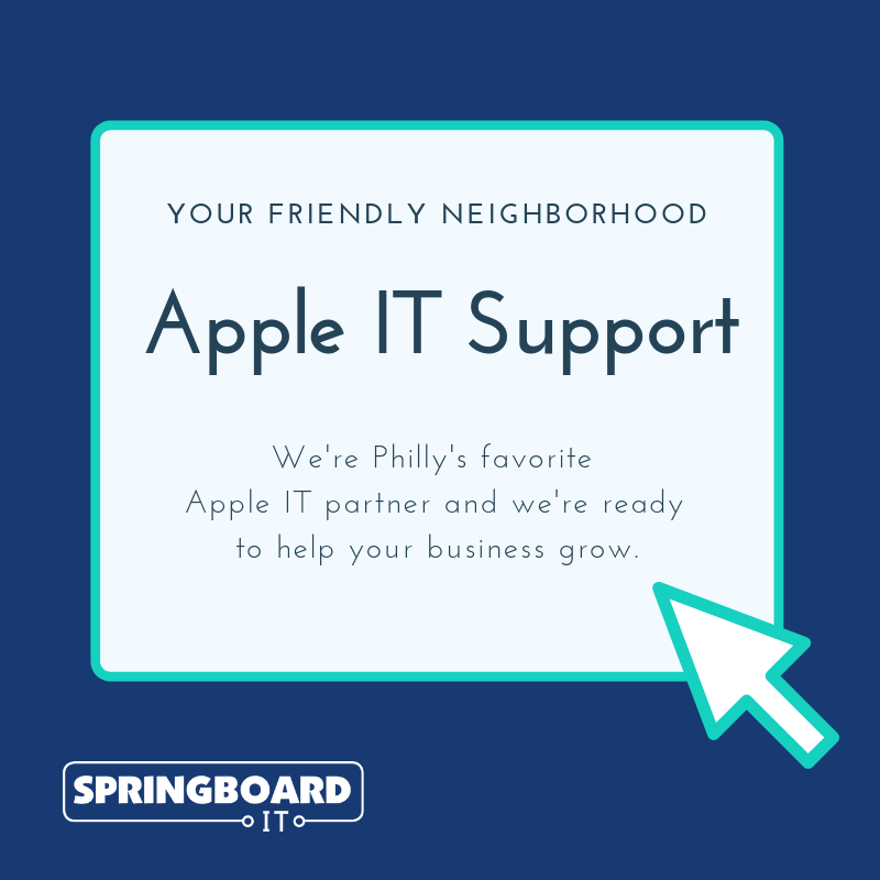 Your Friendly Neighborhood Apple IT Support